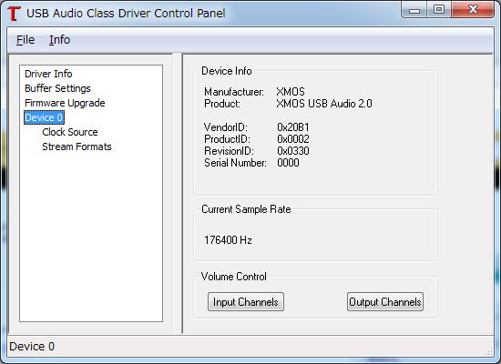 Thesycon usb audio Driver