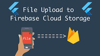 Flutter firebase storage and database