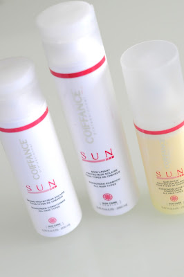 Gamme SUN Coiffance protéger cheveux chaleurs UV été