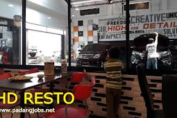 Lowongan Kerja Padang Desember 2017: HD Resto