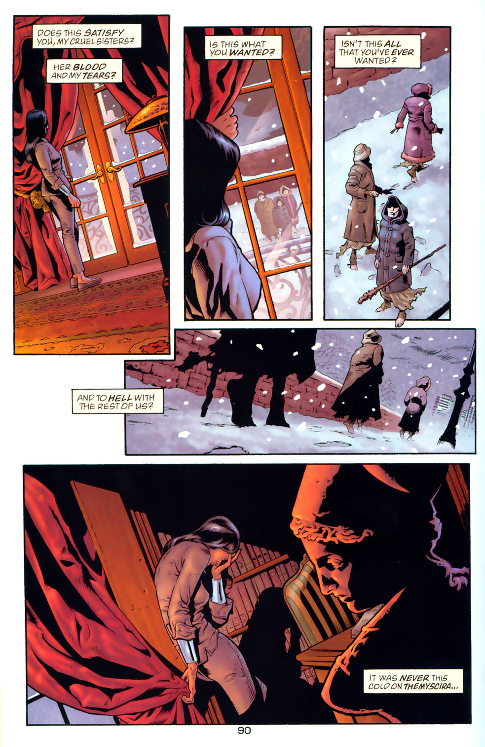 Read online Wonder Woman: The Hiketeia comic -  Issue # Full - 100