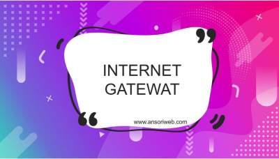 Pengertian Internet Gateway : Fungsi, dan Cara Kerjanya