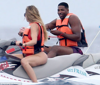 Tristan Thompson Mexico vacation