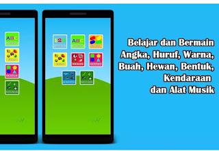 Game edukasi Anak Android PAUD TK SD - Game edukasi anak PAUD SD