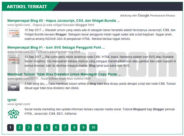 Cara Membuat Google Custom Search CSE Di Blog