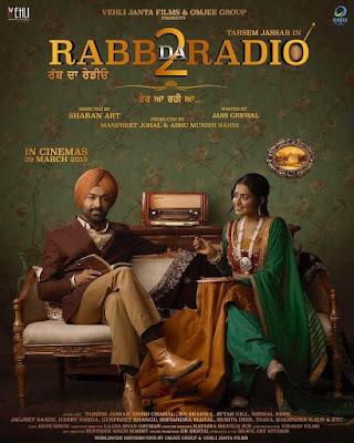 Poster Rabb Da Radio 2 2019 Punjabi HD 720p