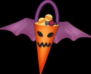 Clipart de Golosinas de Halloween.