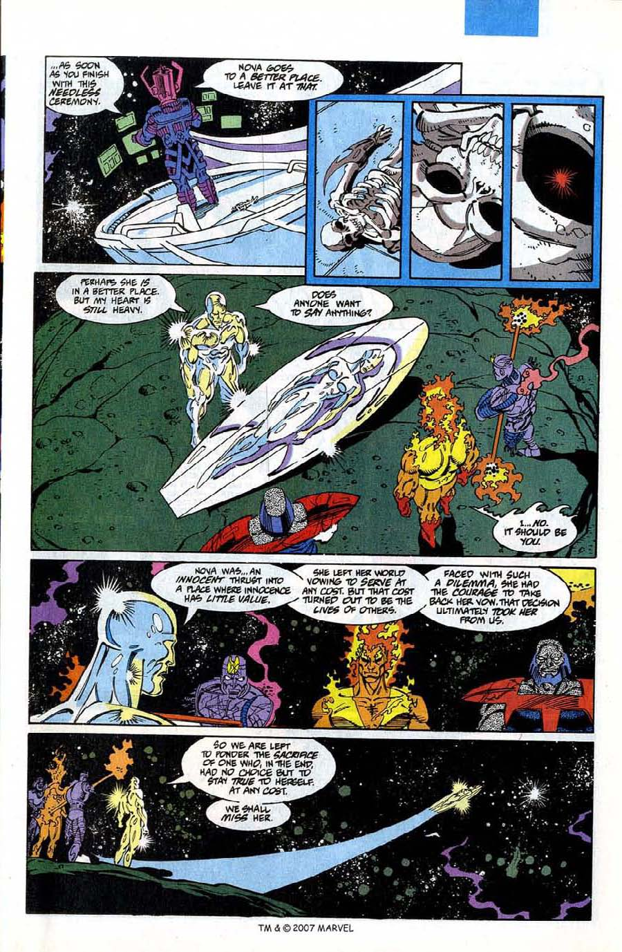 Read online Silver Surfer (1987) comic -  Issue #75 - 47
