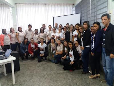 Funcionários da APAE de Registro-SP participam de capacitação