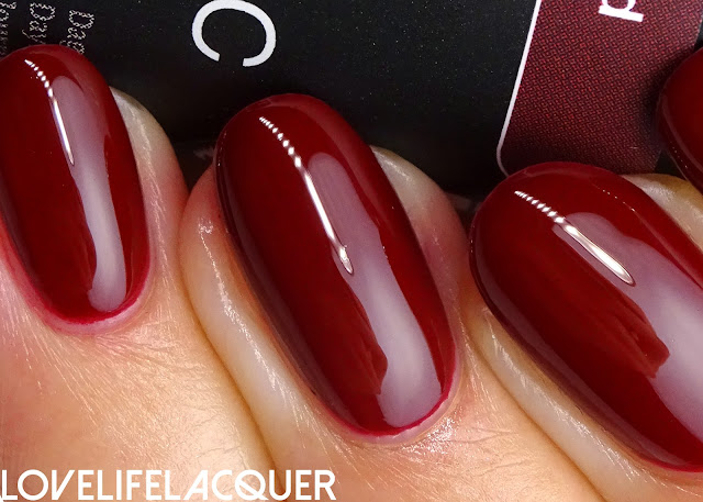 Pink Gellac Luscious Red swatch