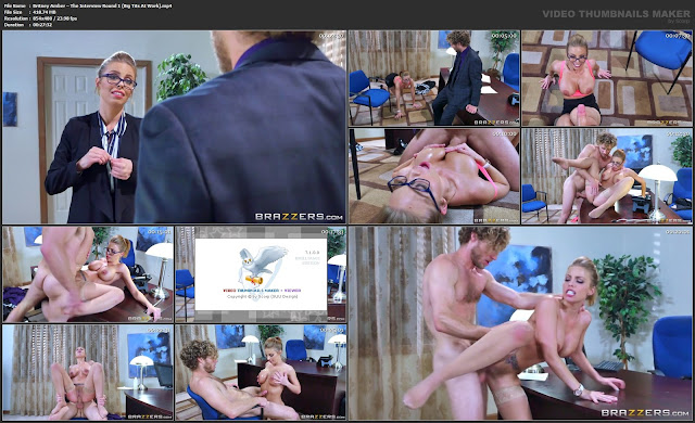 Britney Amber – The Interview Round 1 (Big Tits At Work)