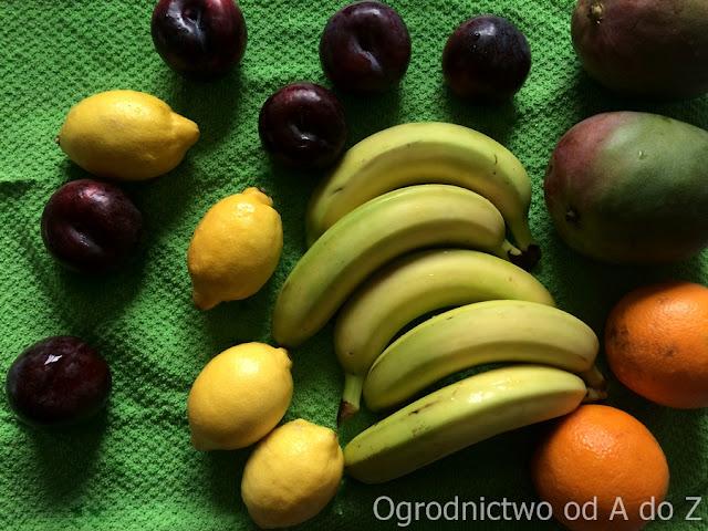 Usuwanie pestycydów z owoców i warzyw