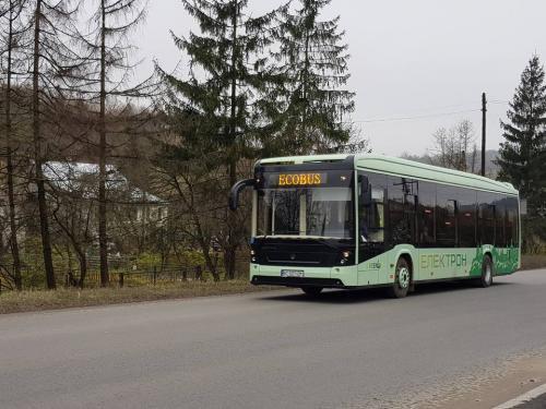 Український електробус проїхав 300 км без підзарядки