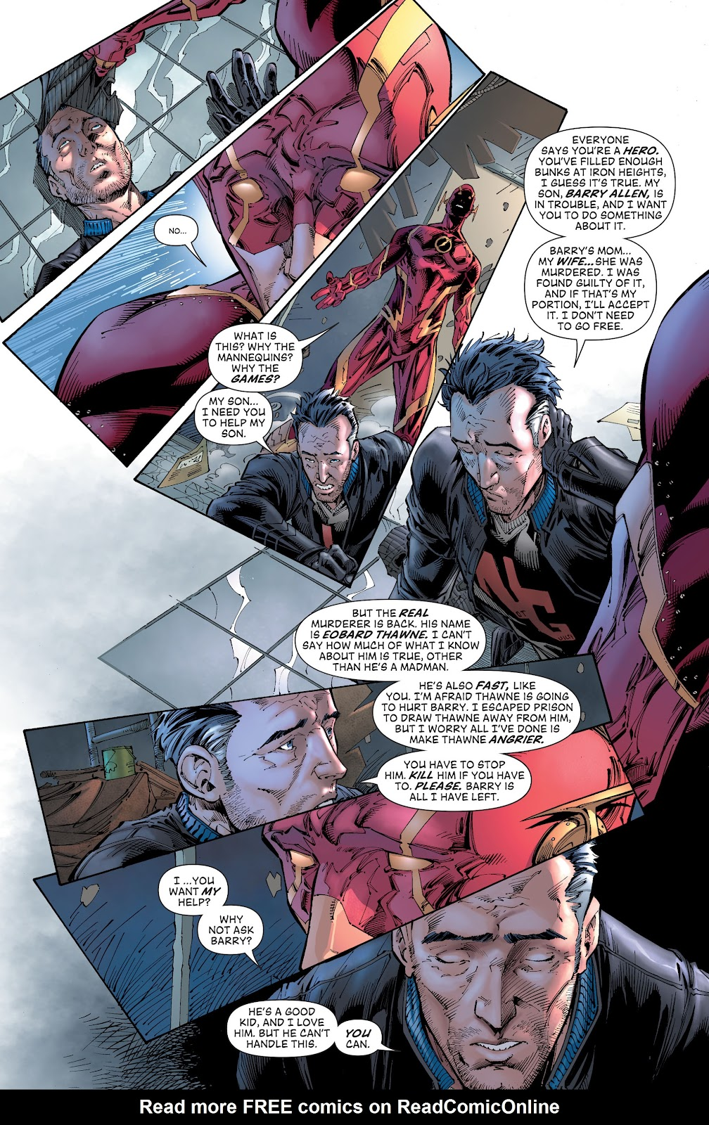 Read online The Flash (2011) comic -  Issue # _TPB 8 (Part 2) - 13