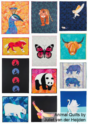 Animal Quilts Book Review by www.madebyChrissieD.com