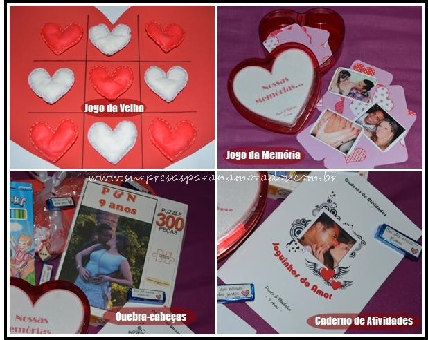 kit de jogos para namorados