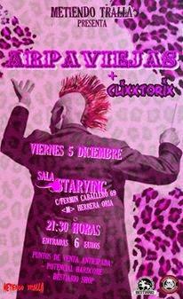 Concierto Arpaviejas en Madrid, Sala Starving