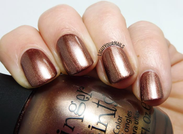 Smalto color bronzo Finger Paints Artist's Inspiration bronze nail polish