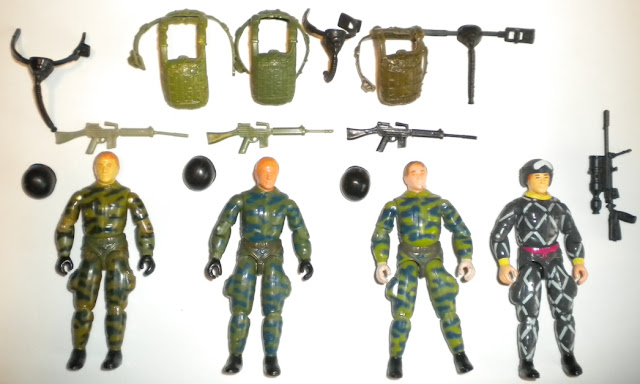 1984 Ripcord, Fuego, Plastirama, Argentina, Fumaca, Brazil, Estrela, Relampago, Python Patrol, Rare G.I. Joe Figures