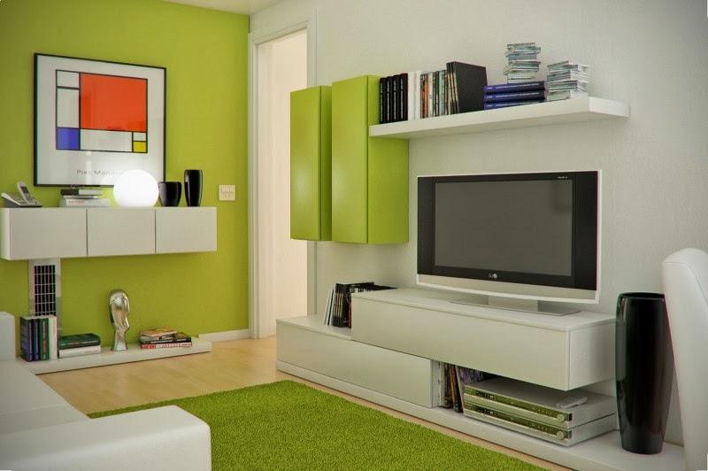 Pilihan Warna Polos Dan Senada Adalah Lebih Baik Untuk Menampn Ruang Rumah Anda Kelihatan Luas