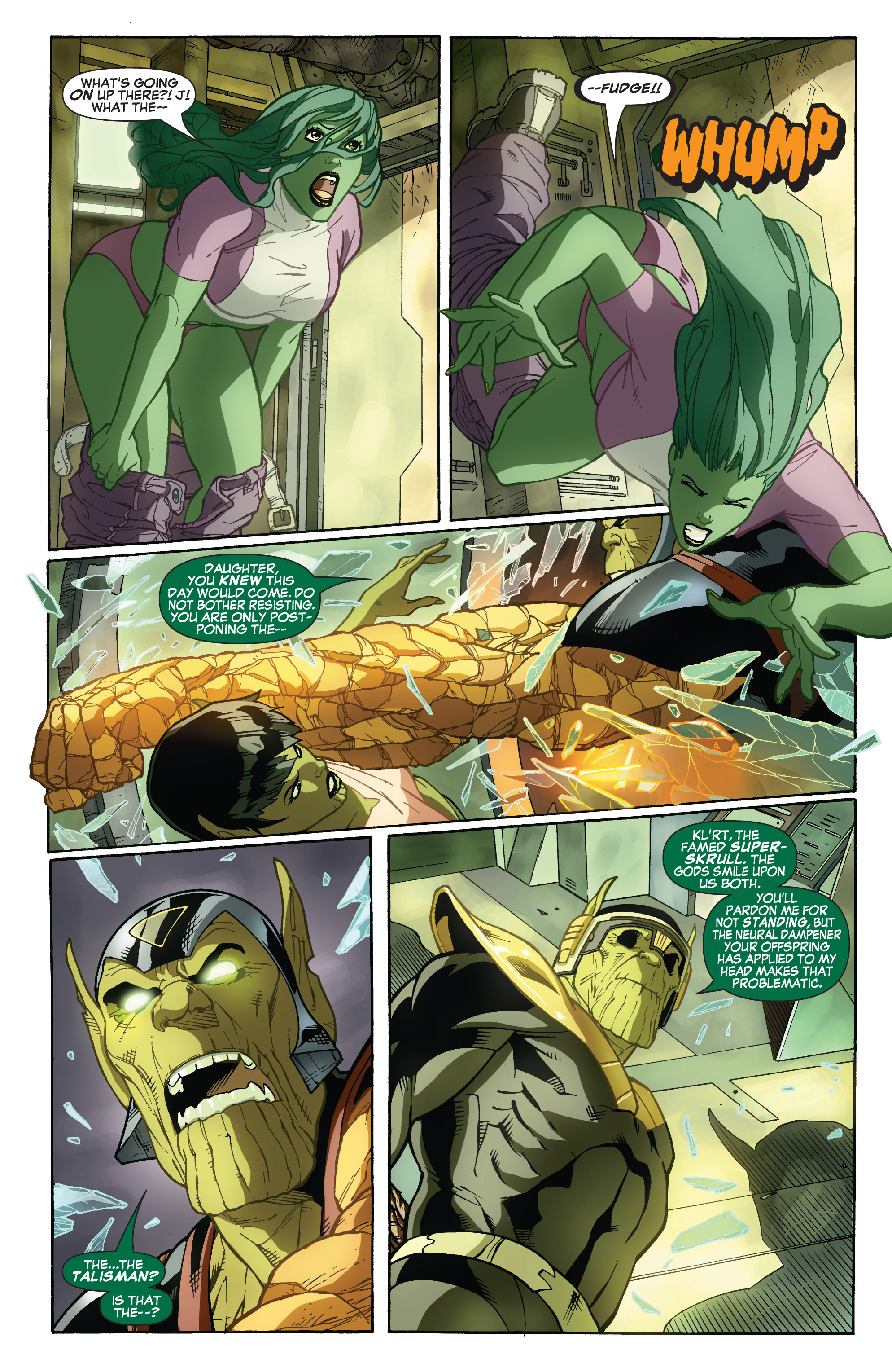 Read online She-Hulk (2005) comic -  Issue #32 - 18