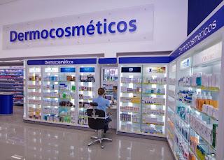 Espaço Dermocosméticos da Drogaria Araújo