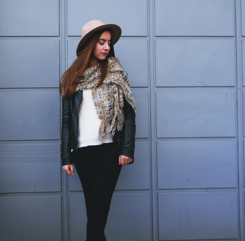 Outfit | Brown, Black and White