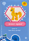 My Little Pony Wave 4 Mosely Orange Blind Bag Card