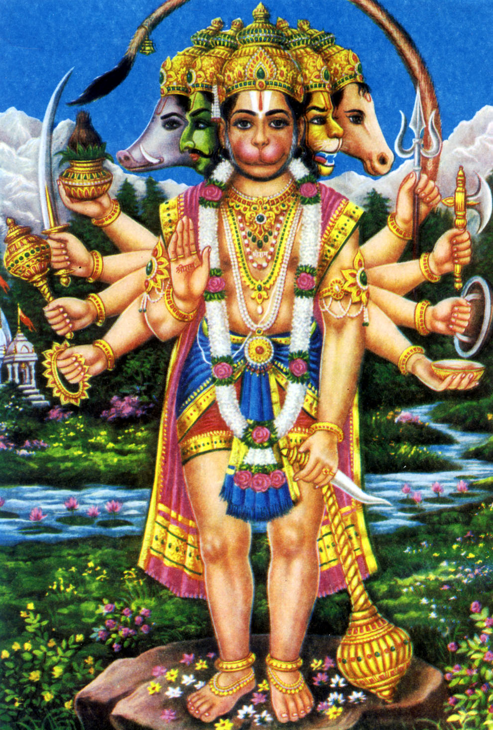 HINDU GOD WALLPAPERS: Shri Hanuman