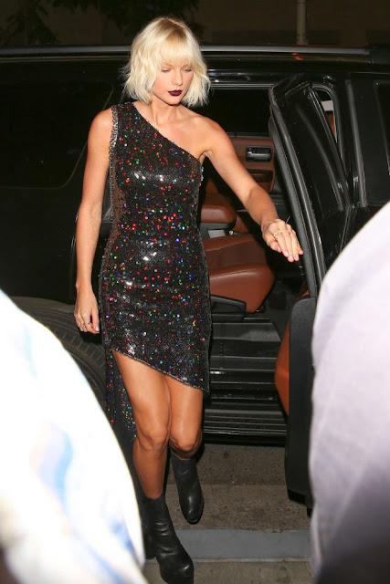 Taylor Swift at Il Piccolino Restaurant