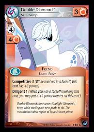 My Little Pony Double Diamond, Ski Champ High Magic CCG Card
