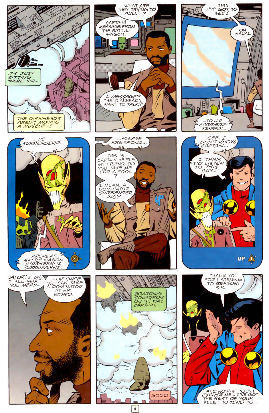 Legion of Super-Heroes (1989) 35 Page 4