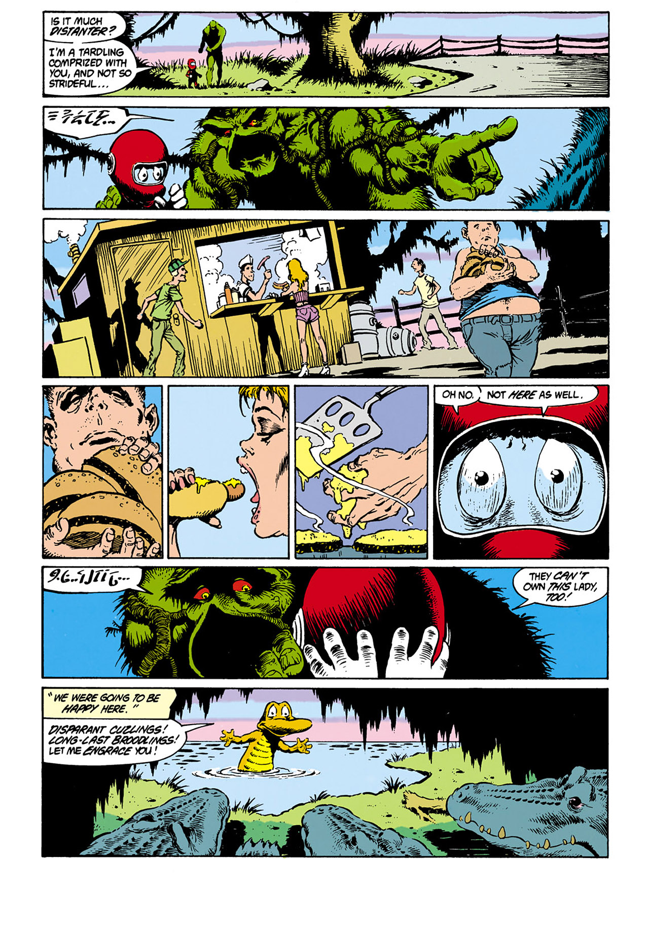 Swamp Thing (1982) Issue #32 #40 - English 17