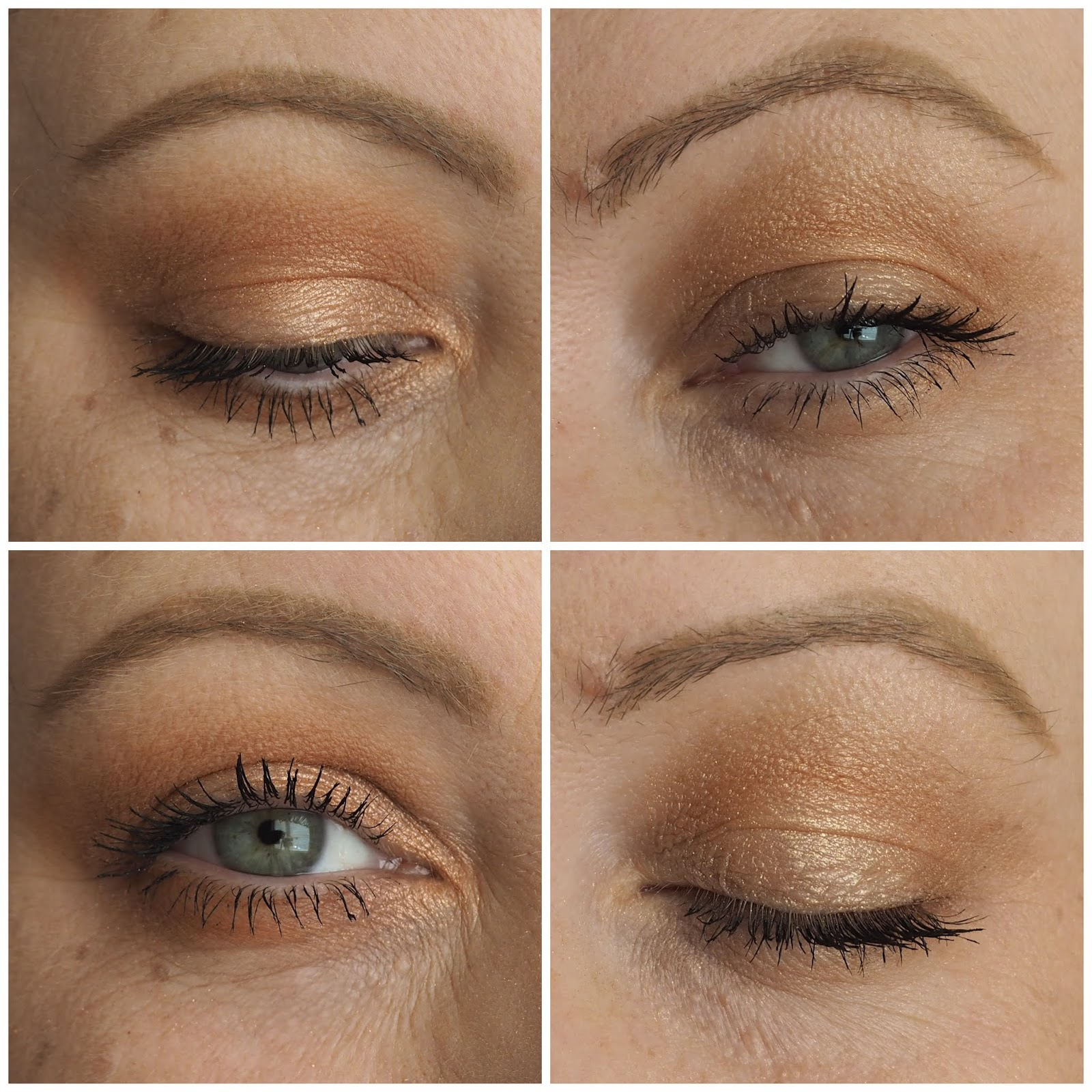 a7c26ab896f In the photos above, on the left we have the Love Eyes, on the right is the  Power Eyes. This half of the palette is more for daytime wear and brings  light ...