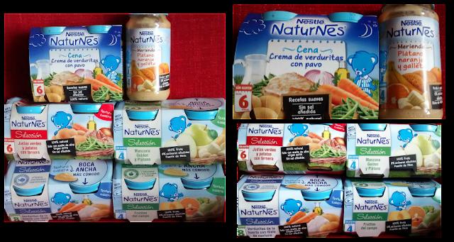 Nestlé Naturnés Potitos papillas alimentación infantil