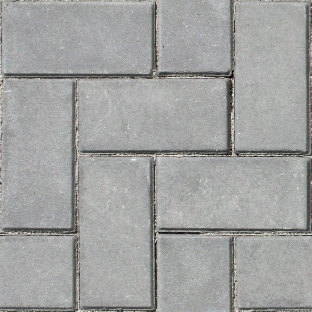 3D Model Free: [Mapping] Sidewalk stone tiles