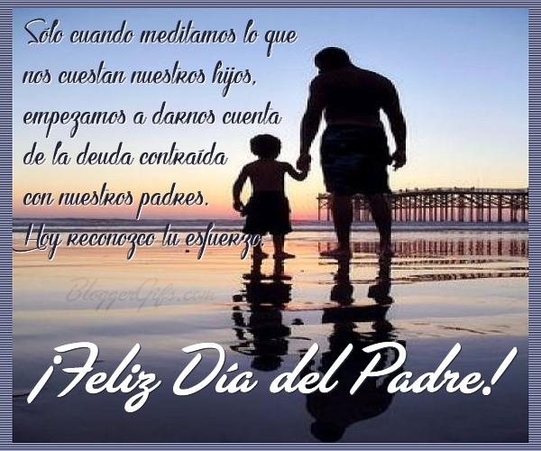 Feliz día del Padre 1