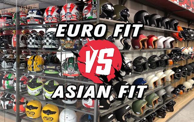 Perbedaan Euro Fit dengan Asian Fit Pada Helm