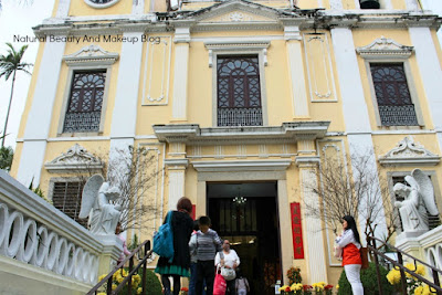 St. Lawrence Church building on the Historic Centre of Macao Trail, oldest church of Macau peninsula, China