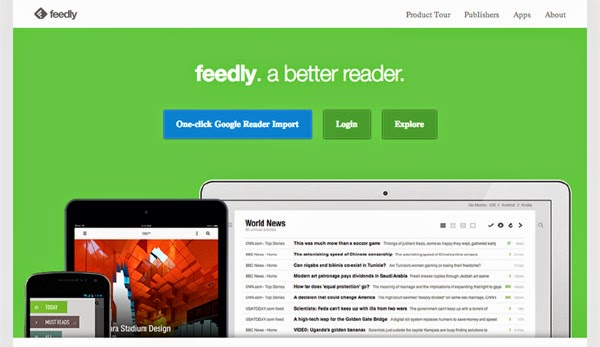 Follow Happiness is... on Feedly - a good replacement for Google Reader