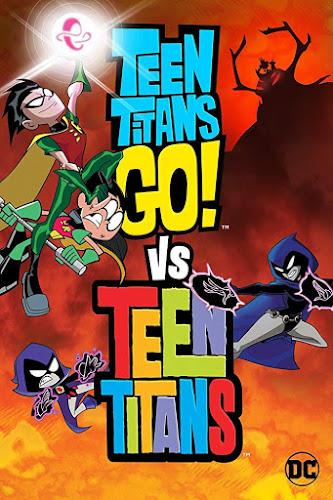Teen Titans Go! Vs Teen Titans (BRRip 720p Español Latino) (2019)