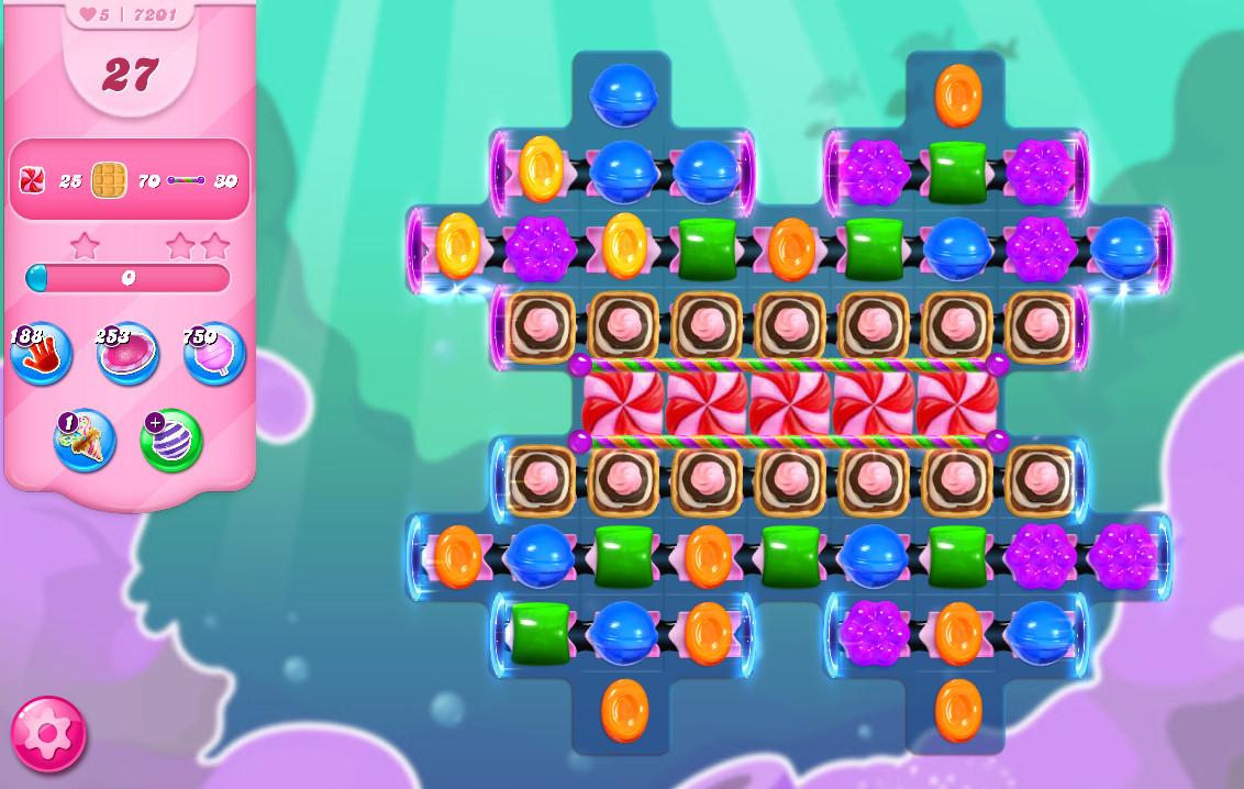 Candy Crush Saga level 7201
