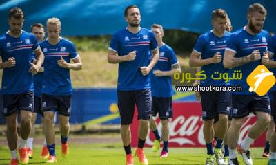 المنتخب الايسلندى فى مواجهة صعبه امام منتخب فرنسا فى ربع نهائى بطولة امم اوروبا 2016 بفرنسا