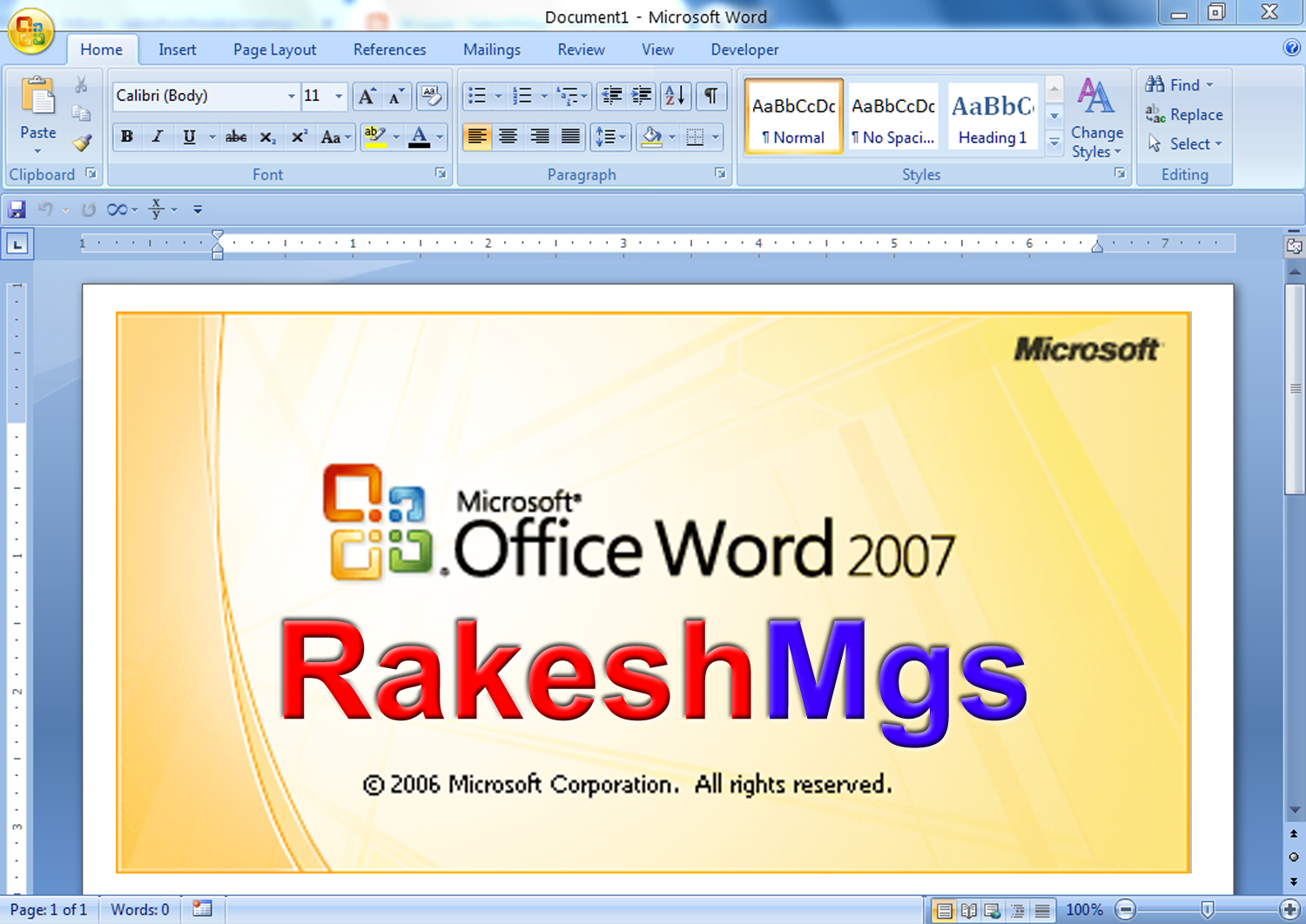 microsoft office word 2007 book pdf free download