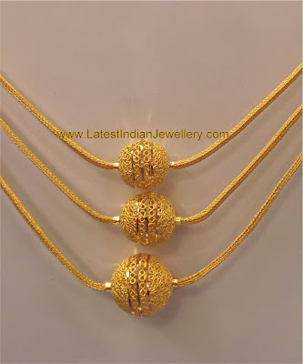 Designer Gold Chain Latest Indian Jewellery Designs