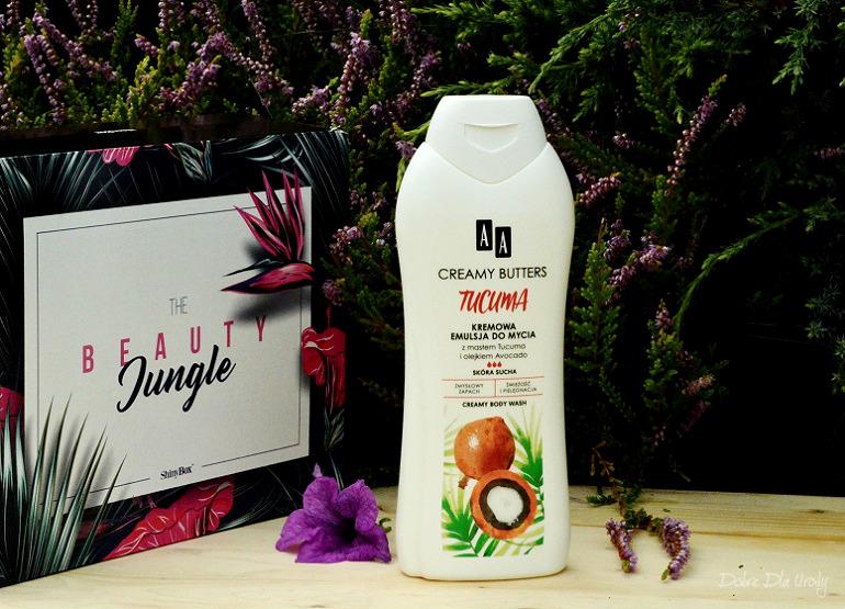 ShinyBox - AA Kremowa Emulsja do mycia ciała Creamy Butters Tucuma