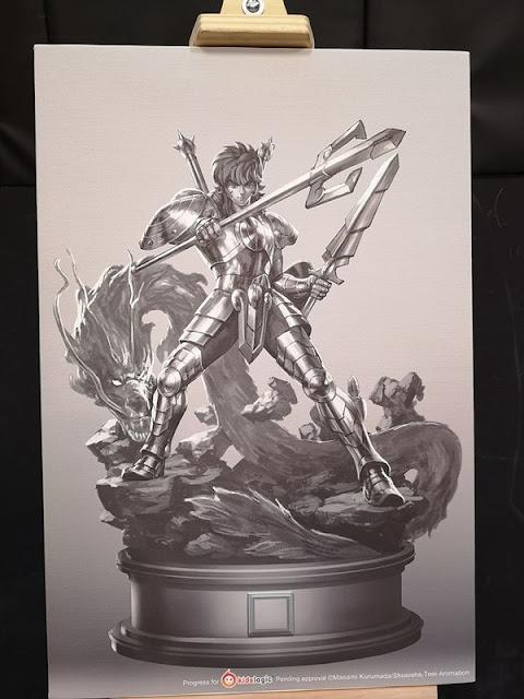 Kidslogic anuncia sus estatuas a 1/4 de Saint Seiya