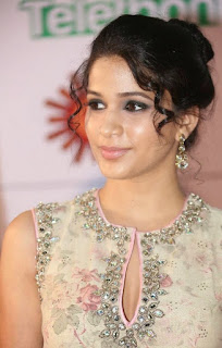 Lavanya Tripathi updo hairstyle