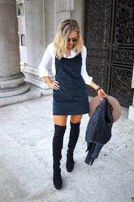 look-camisa-e-vestido