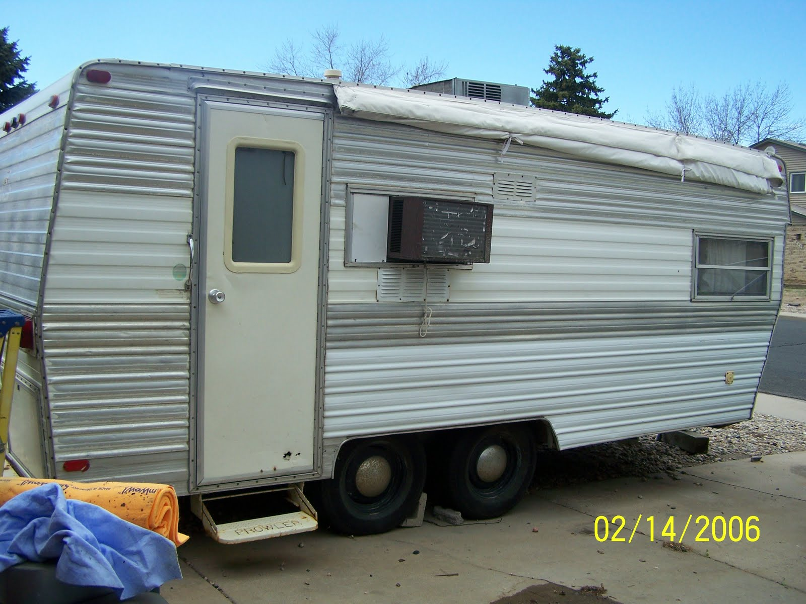 Getting Gazelle: 1972 Travel Trailer